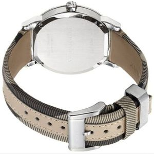 Burberry Accessories - New Burberry Bu9021 Women's Large Check Tan Watch